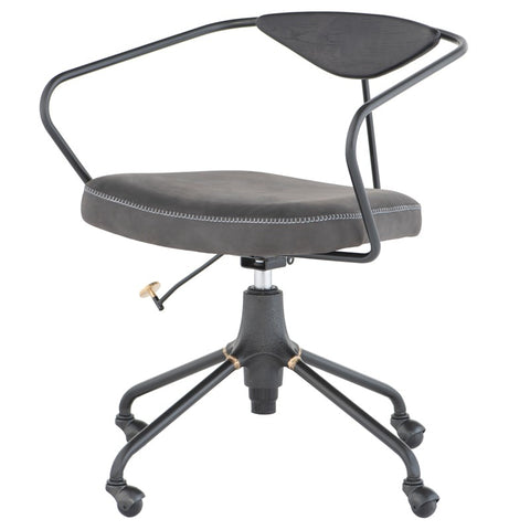 Akron Office Chair in Storm Black design by Nuevo
