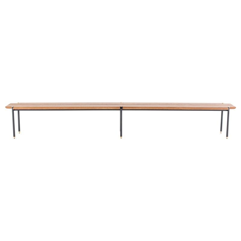 "118"" x 15.8"" x 16.5"" Stacking Bench Bench by Nuevo"