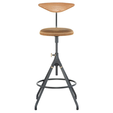 Akron Counter Stool in Umber Tan design by Nuevo