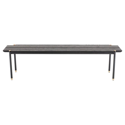 "63"" x 15.8"" x 16.5"" Stacking Bench Bench by Nuevo"