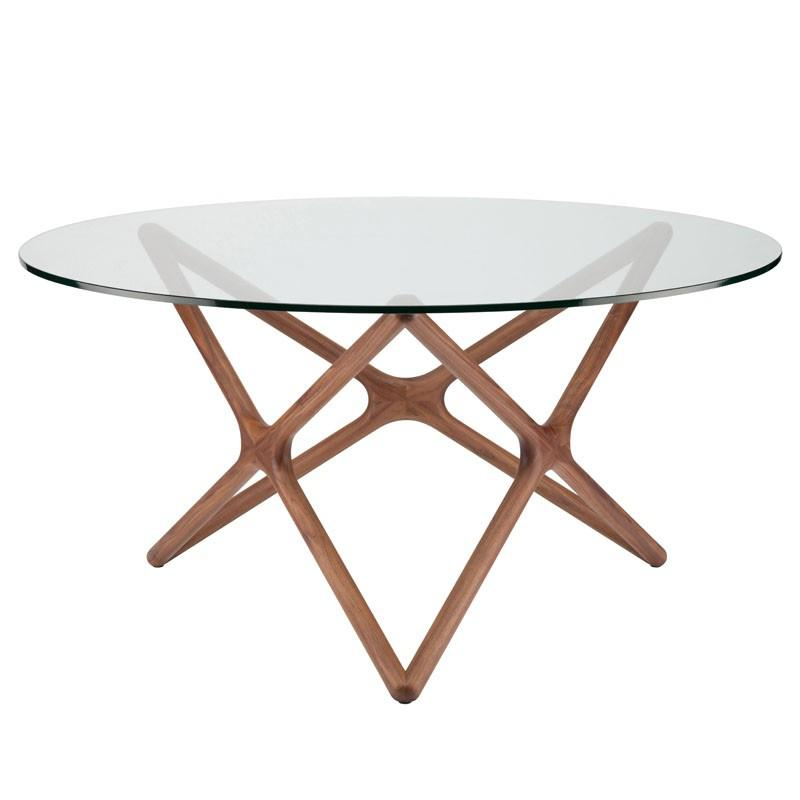 "44"" x 44"" x 29.5"" Star Dining Table by Nuevo"