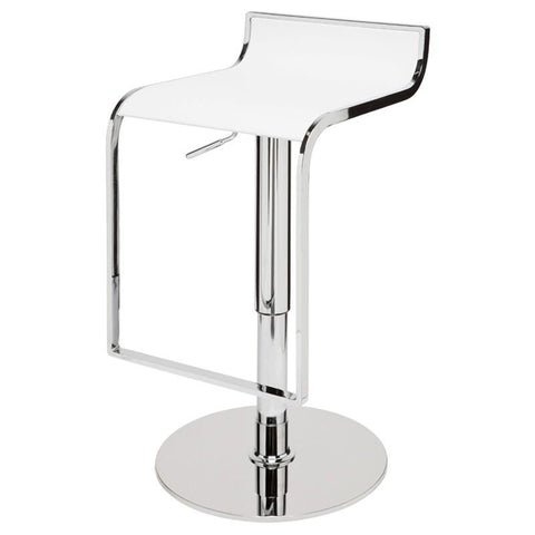 Alexander Adjustable Stool by Nuevo