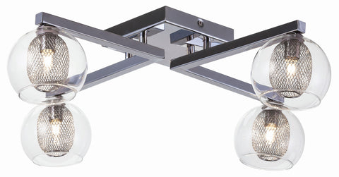 Estelle Ceiling Mount in Various Sizes design by Nuevo