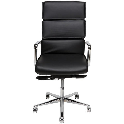 "23"" x 26.8"" x 43.5-46.5"" Lucia Office Chair by Nuevo"