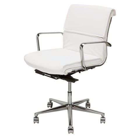 "23"" x 26"" x 36-39"" Lucia Office Chair by Nuevo"