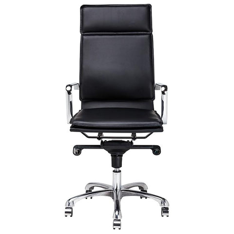 "23"" x 25.3"" x 44.8-47.5"" Carlo Office Chair by Nuevo"
