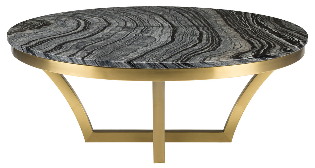 Aurora Coffee Table in Various Finishes design by Nuevo