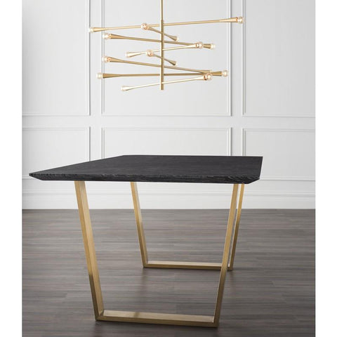 "78.8"" x 39.5"" x 29.5"" Catrine Dining Table by Nuevo"