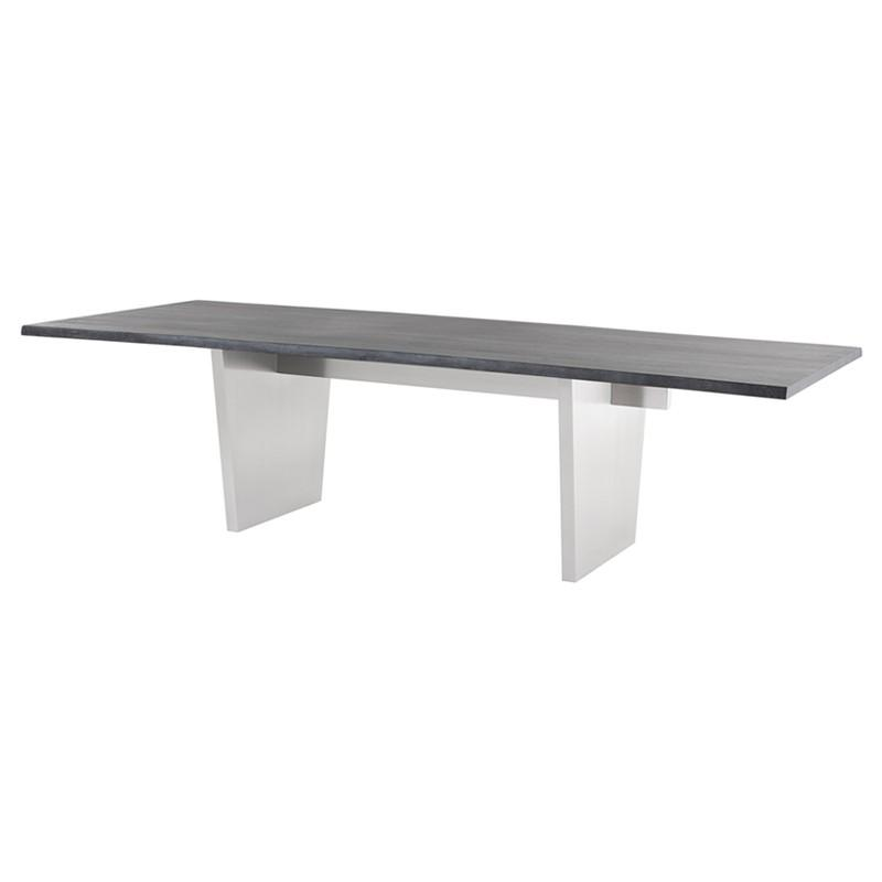 "112"" x 44"" x 29.5"" Aiden Dining Table by Nuevo"