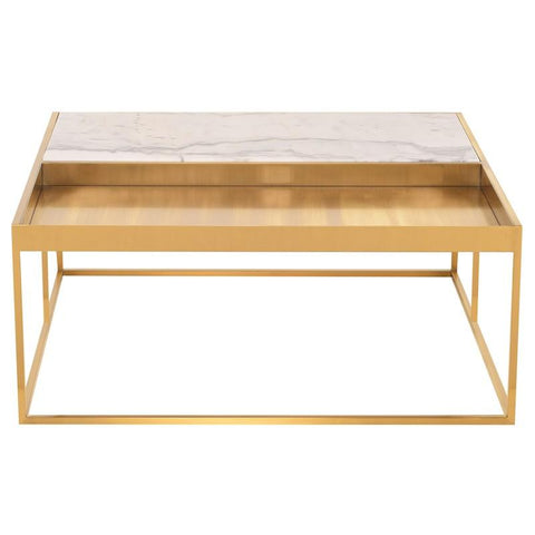 "36"" x 36"" x 15"" Corbett Coffee Table by Nuevo"