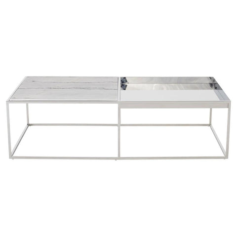 "55.3"" x 30"" x 15"" Corbett Coffee Table by Nuevo"