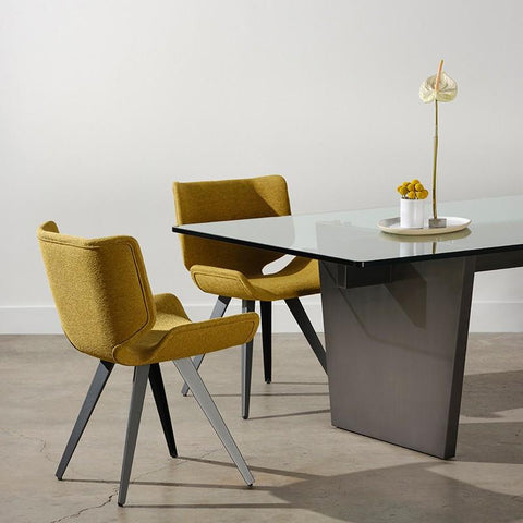 "94.5"" x 43.8"" x 29.5"" Aiden Dining Table by Nuevo"