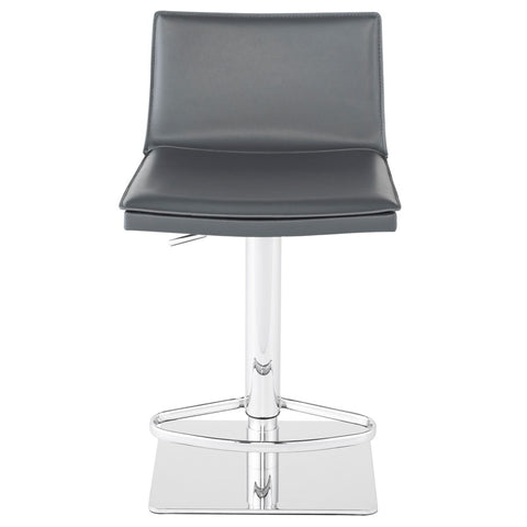 Palma Adjustable Stool in Dark Grey design by Nuevo