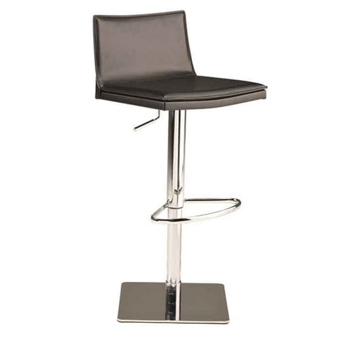 Palma Adjustable Stool in Black design by Nuevo