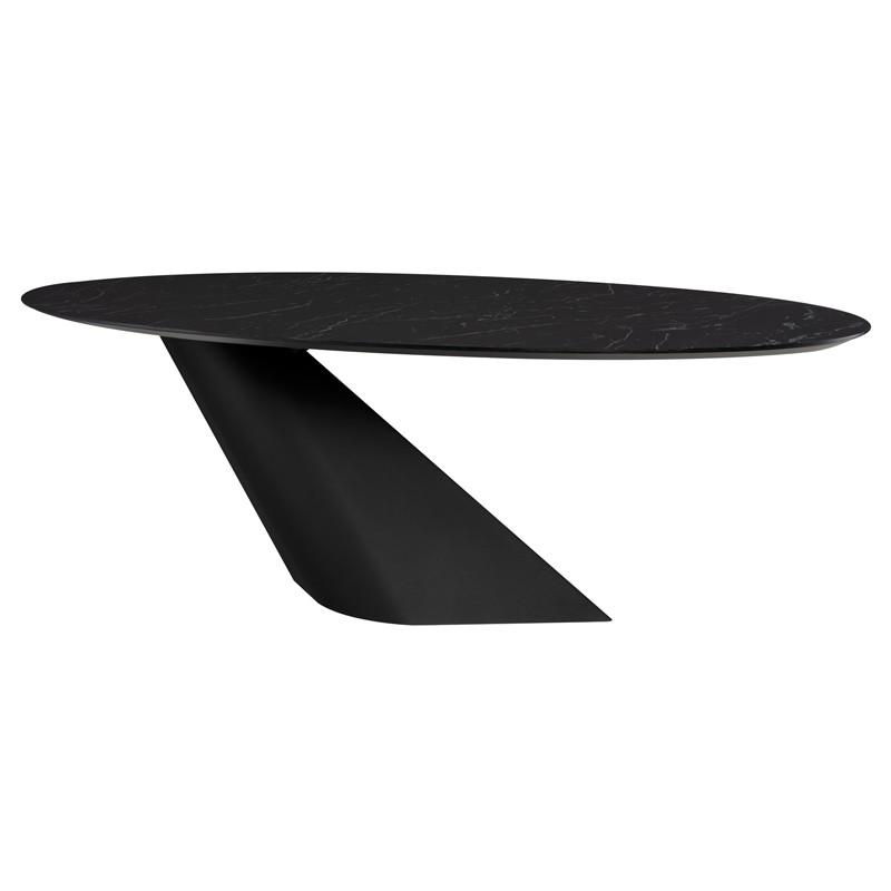"78.8"" x 46"" x 29.5"" Oblo Dining Table by Nuevo"