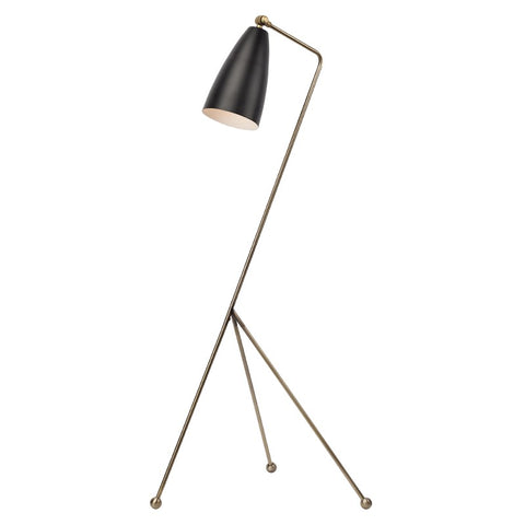Lucille Floor Lamp in Various Finishes design by Nuevo