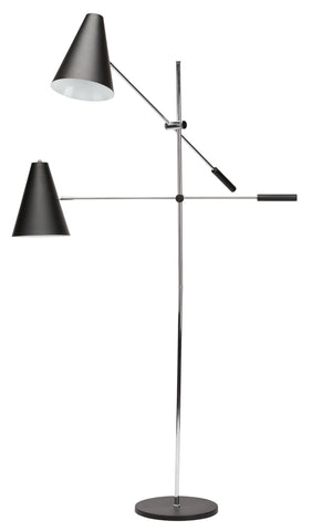 Tivat Floor Lamp in Various Finishes & Styles design by Nuevo