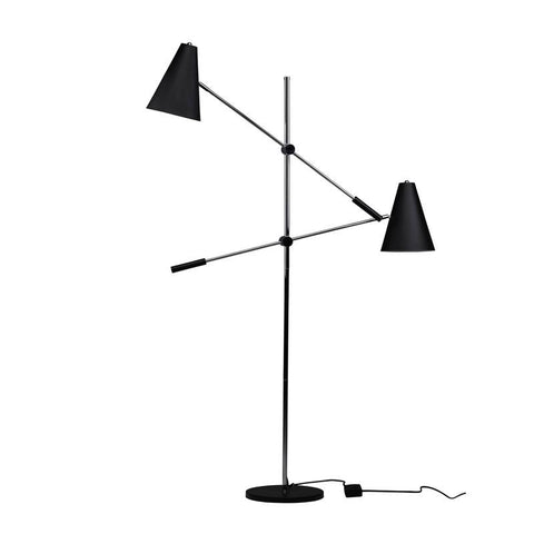 "12"" x 38.3"" x 63"" Tivat Floor Light by Nuevo"