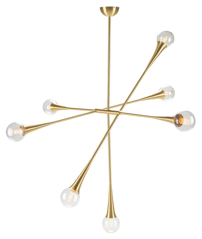Tristan 7 Pendant in Various Finishes design by Nuevo