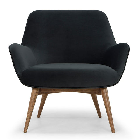Gretchen Occasional Chair in Shadow Grey design by Nuevo
