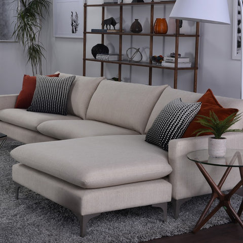Anders Sectional in Sand design by Nuevo