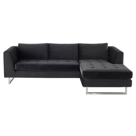 Matthew Sectional in Shadow Grey design by Nuevo