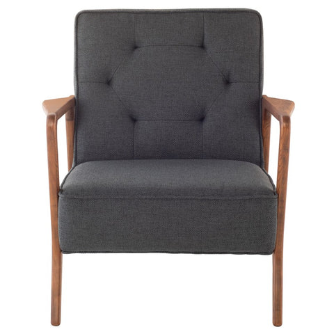 Eloise Occasional Chair in Storm Grey design by Nuevo