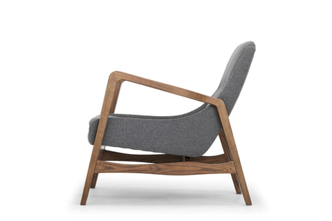 Enzo Occasional Chair in Shale Grey design by Nuevo