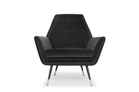 Vanessa Occasional Chair in Shadow Grey design by Nuevo