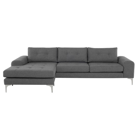 Colyn Sectional in Shale Grey design by Nuevo