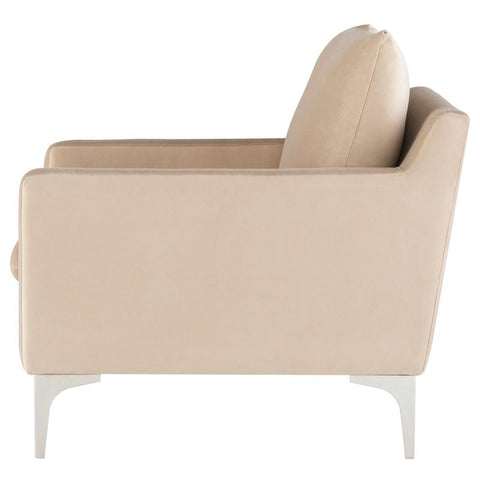 "30.3"" x 34.8"" x 32.3"" Anders Occasional Chair by Nuevo"