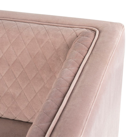 Brooke Sofa in Blush by Nuevo