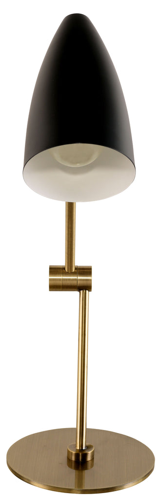 Phillipe Table Lamp in Various Finishes design by Nuevo