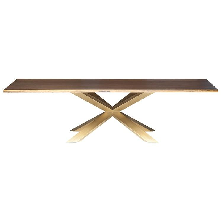 "112"" x 44"" x 29.5"" Couture Dining Table by Nuevo"