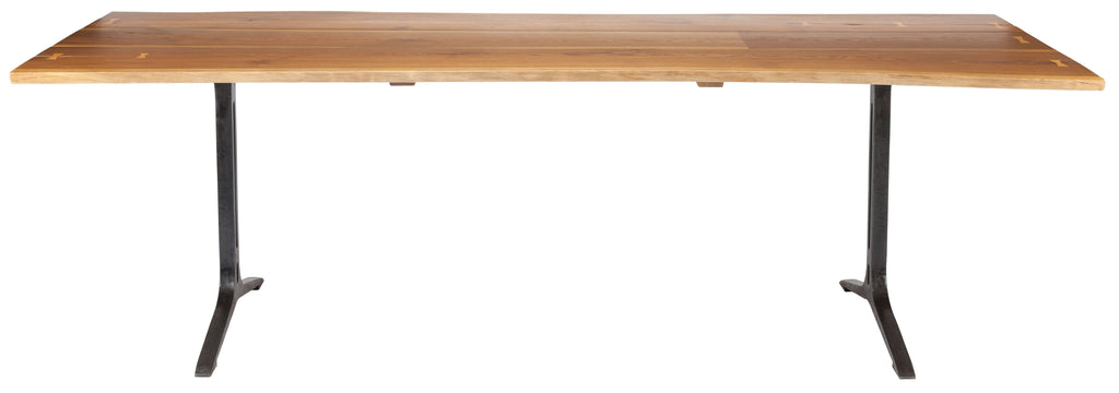 Samara Dining Table in Various Colors & Sizes design by Nuevo