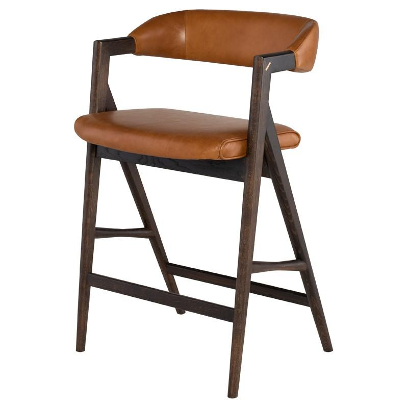 "21.8"" x 21.8"" x 36"" Anita Counter Stool by Nuevo"