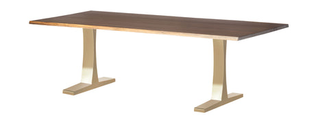 Toulouse Dining Table in Various Finishes & Sizes design by Nuevo