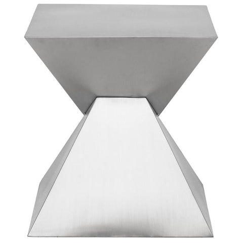 Giza Steel Side Table by Nuevo