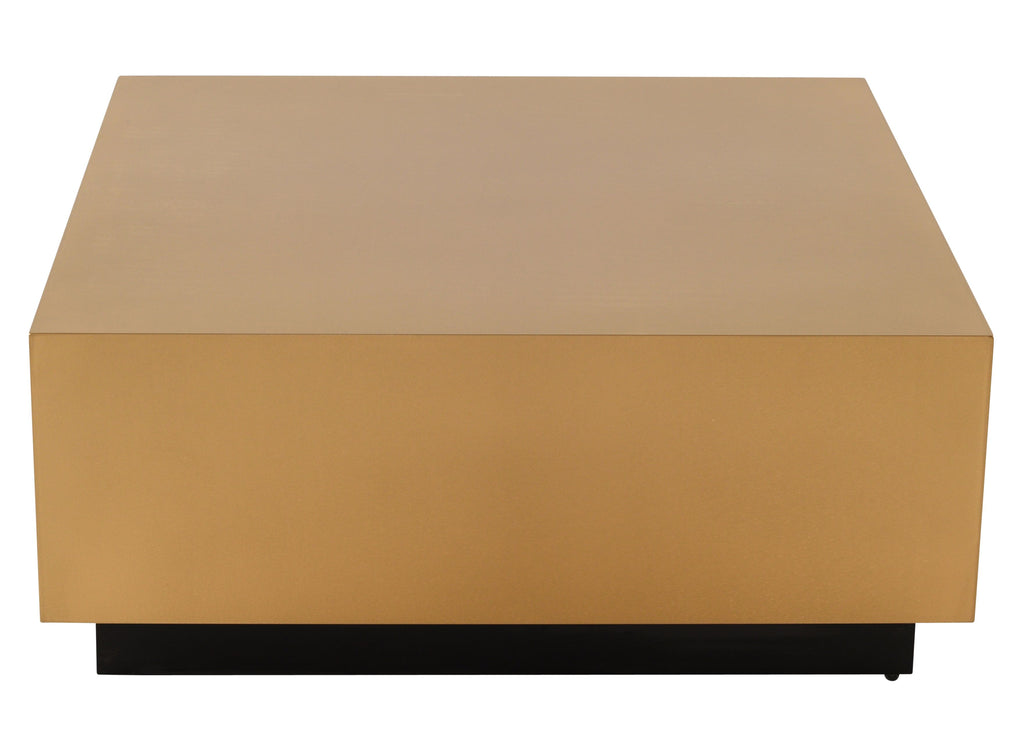 Easton Coffee Table in Brushed Gold design by Nuevo
