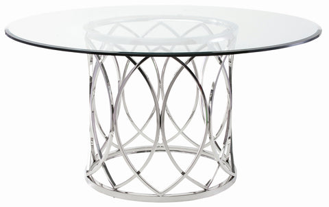 Juliette Dining Table in Various Sizes design by Nuevo