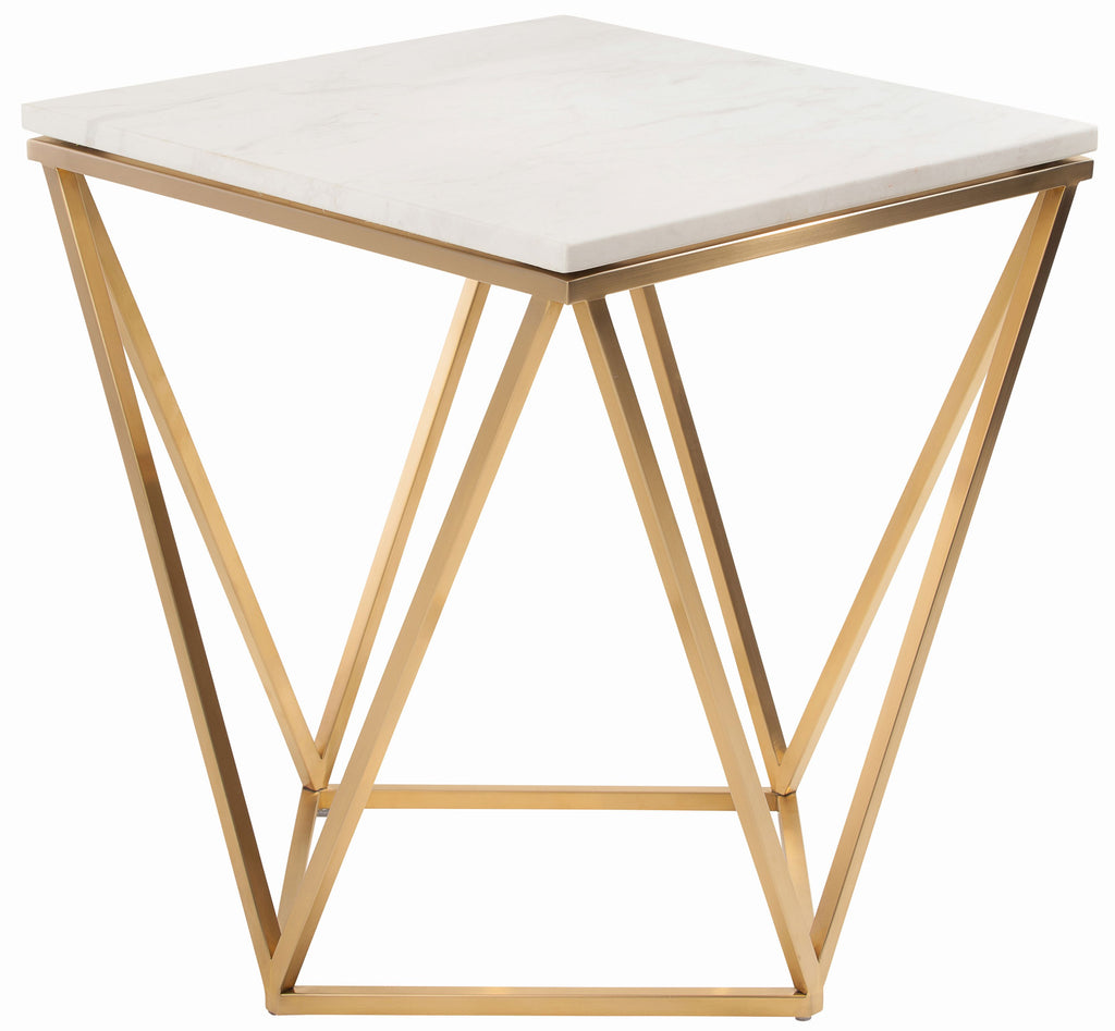 Jasmine Side Table in Various Finishes design by Nuevo