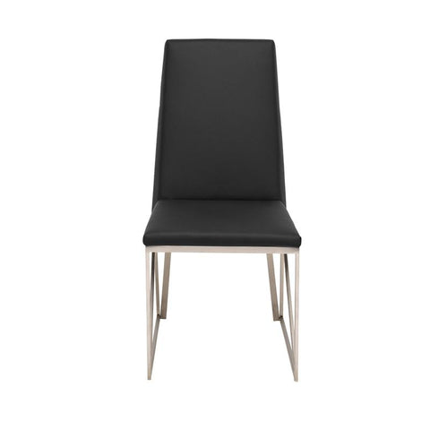 "17.8"" x 24.8"" x 35.5"" Caprice Dining Chair by Nuevo"