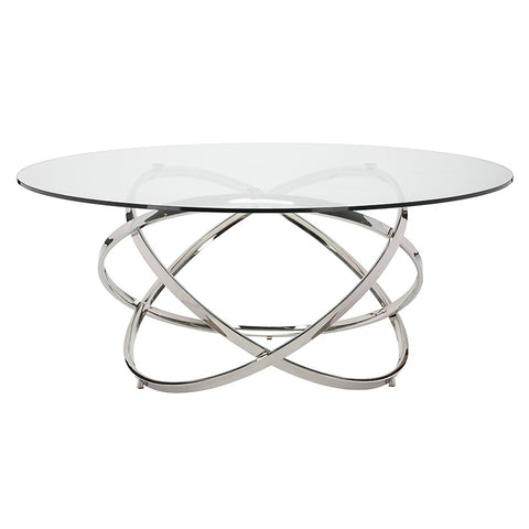 Infinity Dining Table design by Nuevo