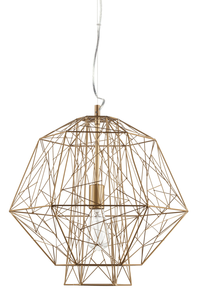 Zeus Pendant Lamp in Various Finishes design by Nuevo
