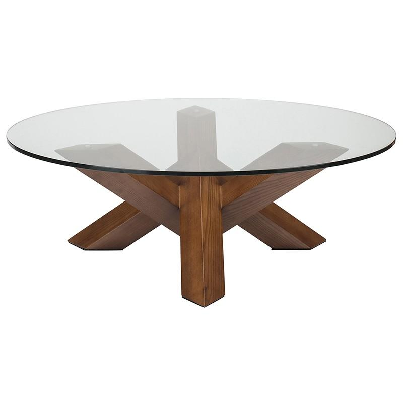 "41.5"" x 41.5"" x 15.8"" Costa Dining Table by Nuevo"