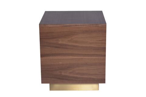 Ben Side Table in Walnut design by Nuevo