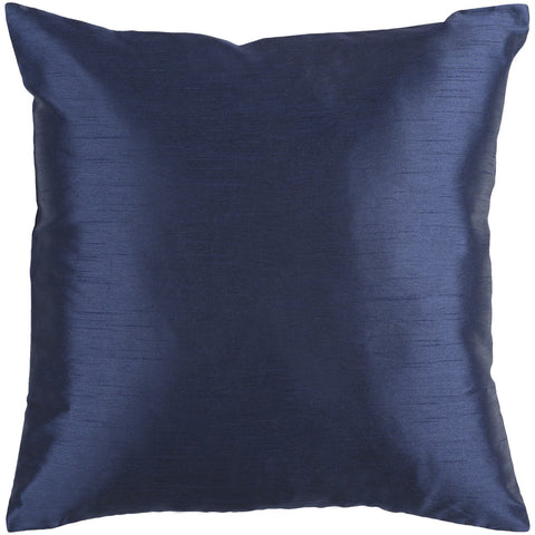 Solid Luxe HH-032 Woven Pillow in Navy by Surya