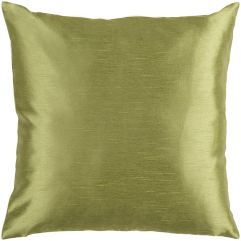 Solid Luxe HH-043 Woven Pillow in Dark Green by Surya