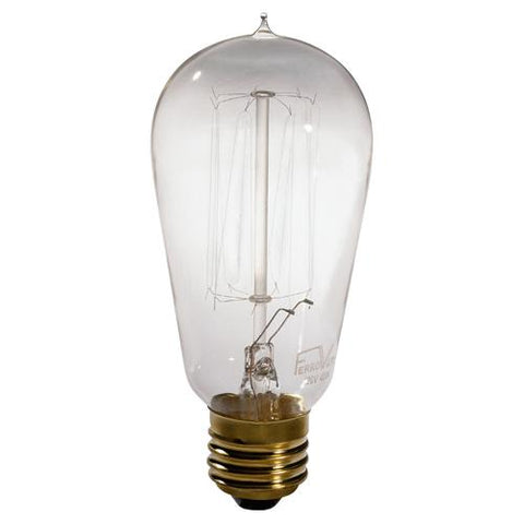 1 - 40W Historical Bulb by Robert Abbey
