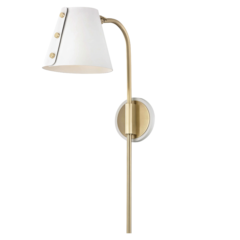 Meta 1 Light Wall Sconce With Plug